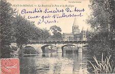BF8273 la bourbince le pont et la basil paray le monial france      France