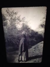 "Edward Curtis ""Girl"" Maricopa Native American photography 35mm slide"