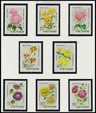 Rep Socialiste VIETNAM N°138//145**  Fleurs 1979, Vietnam #964-971 Flowers MNH