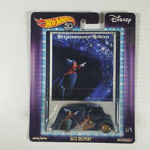 Hot Wheels Disney Stereophonic Sound Deco Delivery Mickey Fantasia