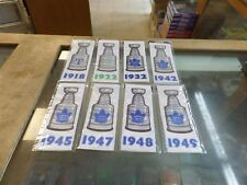 2017 Toronto Maple Leafs Centennial Banners complete set of 13