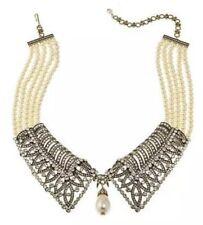 "Heidi Daus ""prim and Proper"" Crystal-accented Collar Necklace Ret"