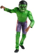 Disney Authentic Avengers The Incredible Hulk Costume Kids Boys Size 9/10 11/12