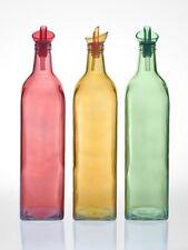 FARBIGE Öl Essig Flasche 1ltr