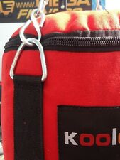 SACCO BOXE PIENO KG.30 IN CANVASS COLORE ROSSO KOOLOOK THE BEST!!!