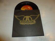 "AEROSMITH - Draw The Line - Rare 1977 UK promotional-only 2-track 7"" Single"