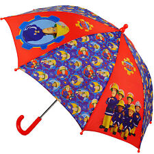 "Umbrella - "" Fireman Sam Jones "" - Childrens Umbrella Ø 69 cm - Children Stocks"