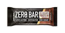 Biotechusa Zero bares 20 50 G chispas de chocolate cookies Low-carb