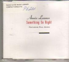 (BX670) Annie Lennox, Something So Right - 1995 DJ CD