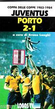 VHS=COPPA DELLE COPPE 1983/84=FINALE JUVENTUS-PORTO 2-1=