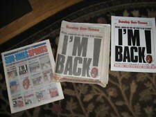 Chicago Sunday Sun-Times March 19,1995 Bulls Jordan I'M BACK ! Plus Posters