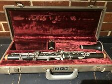Vintage W. Schreiber & Sohne Bb Clarinet Germany With Case