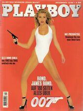 Playboy 12/95 Dezember 1995 Bond Girls Pirelli Eva Herzigova, Nastassja Kinski
