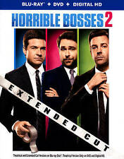 Horrible Bosses 2 (Blu-ray/DVD, 2015, 2-Disc Set, Extended Cut Includes...