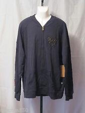 Antik Denim Gallery Men's Antik Garage Track Jacket Full Zip 4XL NWT msrp $95