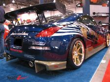 03-08 350Z Z33 SK Style Rear Bumper Addon Corners Extension Valance CANADA USA
