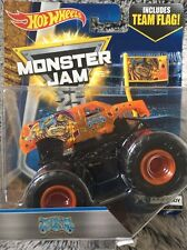 Bnib Monster Jam Hot Wheels Jester Truck 1:64 size Diecast X-ray Body #1