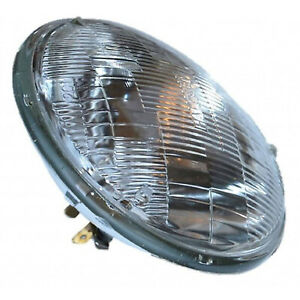 "5-3/4"" Halogen Sealed Beam Glass High Hi Beam Headlight Head Light Headlamp Bulb"