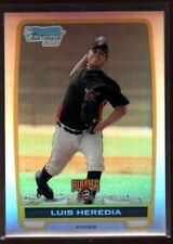 LUIS HEREDIA PIRATES 441/500 MINT REFRACTOR ROOKIE CARD RC SP 2012 BOWMAN CHROME