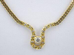 Collier mit Diamanten 1,15ct
