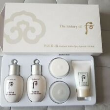 The history of whoo seol Radiant White Gift Kit 5items Korean Cosmetics K beauty