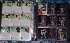 2000 Gundam Wing: Series 1 Complete Chase Cards Set (GC1-GC15) Rare! W/ Commons