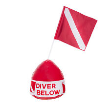 IST SB-1 High Stability Flag-N-Float Diver Below Inflatable Buoy with Flag