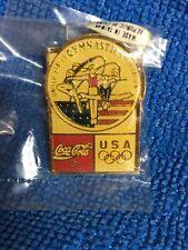 1992 Barcelona Olympics Us Gymnastics Coca Cola Pin