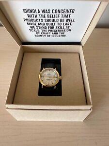 Women's Shinola Runwell Pearl Watch