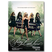 24x36 Pretty Little Liars Poster Ashley Benson Lucy Hale