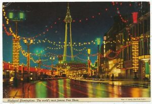 Blackpool Illuminations. The world's most famous Free Show