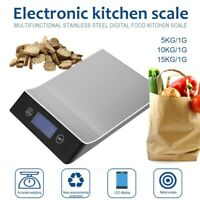 Kitchen Scale Electronic Digital Scale Stainless Steel Weighing Measuring Tools