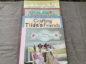 Tilda Craft Books (x4) By Tone Finnanger