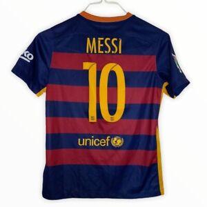 Nike original Messi FC Barcelona 2015/16 home shirt 10