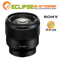 BRAND NEW SONY FE 85MM F1.8 BLACK LENS