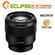 Brand New Sony FE 85mm F1.8 Black Lens
