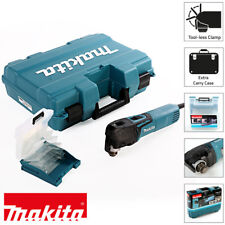 Makita TM3010CK Oscillante Multi-Tool 320 W con tool-less Accessorio MODIFICA 240 V