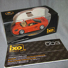 988D IXO Models MOC020 Saleen S7 Met Orange 1:43