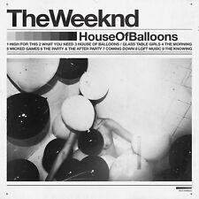 THE WEEKND HOUSE OF BALLOONS CD NEW