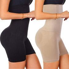 Fajas Women Abdomen Tummy Control Shorts Body Shaper High-Waisted Panty Girdle