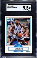 1990-91 Fleer #132 Nick Anderson RC SGC 9.5 Mint+~PSA 10?~Centered~Orlando Magic