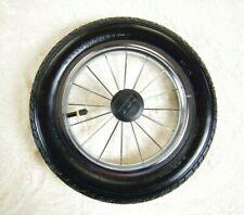 2 tlg Radset mit Achse Kinderwagen Baobao Ersatzteil Räder 2 Stück Vorderräder