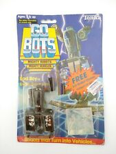 Unopened Vintage TONKA GOBOTS BAD BOY 55 Enemy Robot BOMBER AIRPLANE