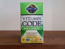 Vitamin Code - RAW B-Complex 60 vegan capsules - Gluten FREE - Garden of Life