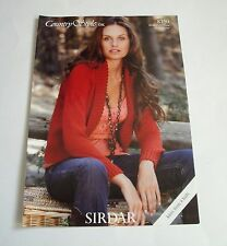 Sirdar Country Style 8750 Ladies Jacket Knitting Pattern 81/86 - 132/137 cm NEW