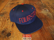 FOURSTAR SLANT SNAPBACK CAP NEU FARBE:NAVY 4 STAR CLOTHING CO - SUPER FRESH