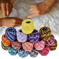 16pcs Sewing Embroidery Thread DIY Cross Stitch Line Beading Necklaces Wire Rope