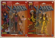 Marvel Legends X-Men Retro Wave Gambit and Rogue Brand New