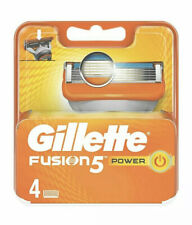 Gillette Fusion 5 Power Blades New Blades 4 Pack Micro Skin Guard Genuine  New