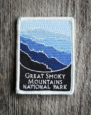 Great Smoky Mountains National Park Souvenir Patch Traveler Series Iron-on